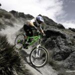 Downhill mountain bike riding, Dirt Park NZ, Queenstown